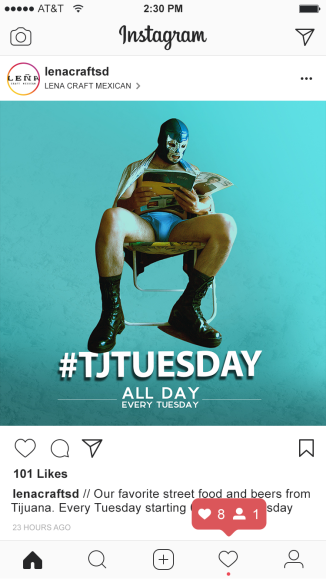 Instagram Feed TJ Tuesday